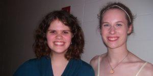 Hannah McLean, Hannah Nelson, Katelyn Fulk (not pictured)